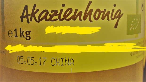 Honig China nachbearbeitet Verschwommen