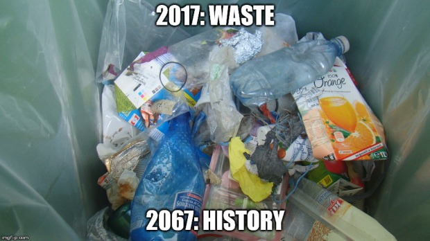 waste history bearbeitung